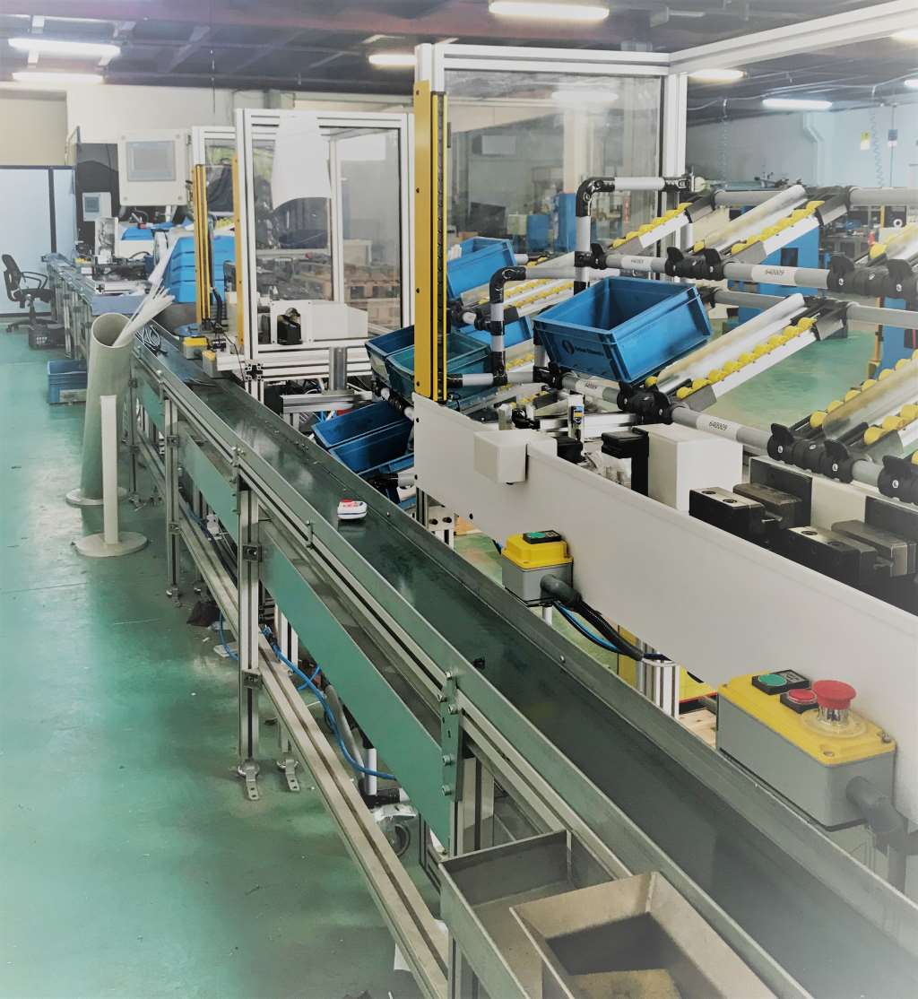 Parking Brake Cable Assembly Line